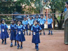 Bhavans Kodunganoor Kids Sports Day