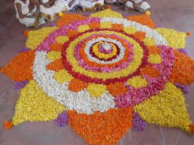 Onam Celebration Kids Bhavans Kodunganoor Trivandrum