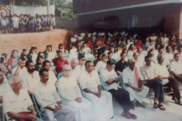 Vintage Picture - BVB Kodunganoor - Bhavans Trivandrum
