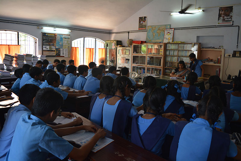 Library - BVB Kodunganoor - Bhavans Trivandrum